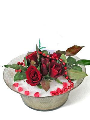 Mardin çiçek siparişi vermek  EN ÇOK Sevenlere 7 adet kirmizi gül mika yada cam tanzim