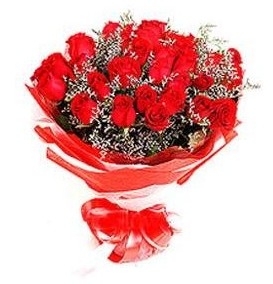 Mardin çiçek mağazası , çiçekçi adresleri  12 adet kırmızı güllerden görsel buket