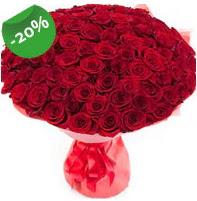 Özel mi Özel buket 101 adet kırmızı gül  Mardin anneler günü çiçek yolla