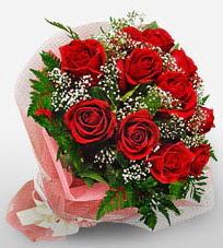 12 adet kırmızı güllerden kaliteli gül  Mardin çiçek siparişi vermek