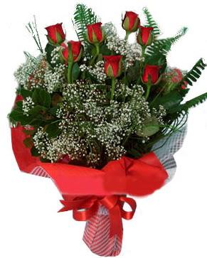 7 kırmızı gül buketi  Mardin çiçek servisi , çiçekçi adresleri