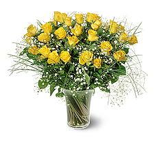 Mardin çiçek siparişi sitesi  15 adet sarigül mika yada cam vazoda