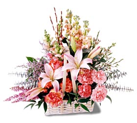 Mardin çiçek siparişi sitesi  mevsim çiçekleri sepeti özel tanzim