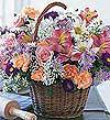 Mardin çiçek satışı  Mevsim çiçekleri sepeti özel
