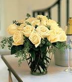 Mardin çiçek siparişi sitesi  11 adet sari gül mika yada cam vazo tanzim
