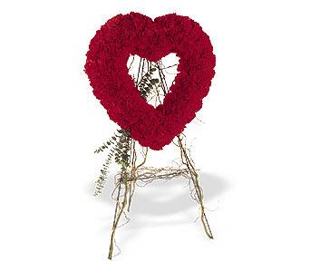 Mardin internetten çiçek satışı  karanfillerden kalp pano