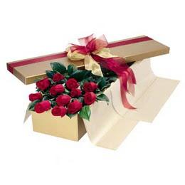 Mardin cicekciler , cicek siparisi  10 adet kutu özel kutu
