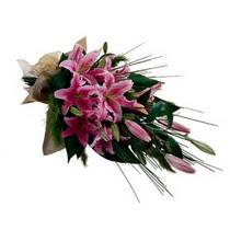 Mardin kaliteli taze ve ucuz çiçekler  gerberalardan görsel halde buket