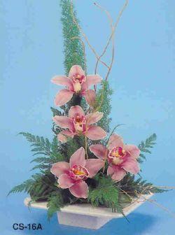 Mardin çiçekçi telefonları  vazoda 4 adet orkide