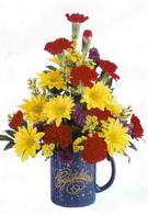 Mardin çiçekçiler  seramikte mevsim çiçekleri