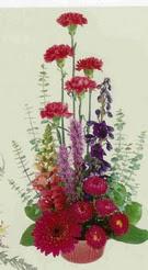 Mardin çiçekçi mağazası  mevsim çiçeklerinden sepet