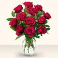 Mardin çiçek yolla  10 adet gül cam yada mika vazo da