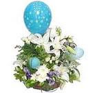 balon ve çiçeklerle tanzim  Mardin çiçekçiler