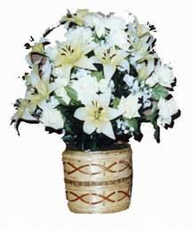 yapay karisik çiçek sepeti   Mardin çiçek mağazası , çiçekçi adresleri