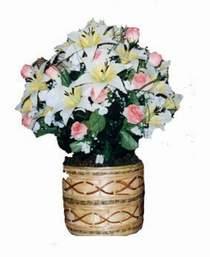 yapay karisik çiçek sepeti   Mardin çiçek servisi , çiçekçi adresleri