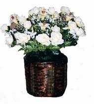 yapay karisik çiçek sepeti   Mardin cicek , cicekci
