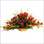 Mardin çiçekçi mağazası  sepette 51 kirmizi gül