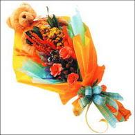 ayicik gül ve kir çiçekleri   Mardin çiçekçi mağazası