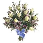 bir düzine beyaz gül buketi   Mardin çiçek gönderme sitemiz güvenlidir