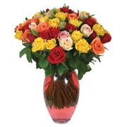 51 adet gül ve kaliteli vazo   Mardin çiçek gönderme sitemiz güvenlidir
