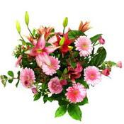 lilyum ve gerbera çiçekleri - çiçek seçimi -  Mardin çiçek gönderme