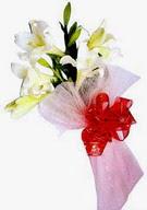 Mardin çiçek , çiçekçi , çiçekçilik  ince vazoda gerbera ve ayi