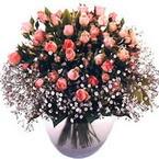 büyük cam fanusta güller   Mardin çiçek yolla