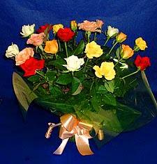 Mardin hediye çiçek yolla  13 adet karisik renkli güller