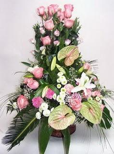 Mardin ucuz çiçek gönder  özel üstü süper aranjman