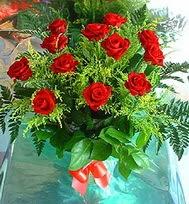 12 adet gül buketi  Mardin anneler günü çiçek yolla