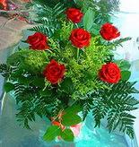 6 adet kirmizi gül buketi   Mardin online çiçek gönderme sipariş