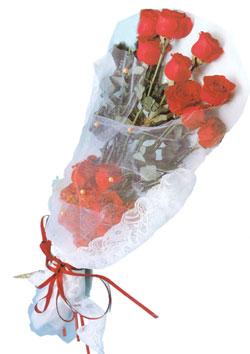 11 adet kirmizi güller buket tanzimi   Mardin çiçek siparişi sitesi