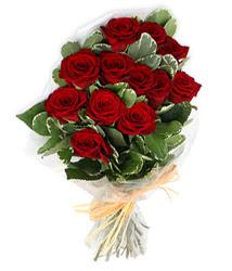 Mardin çiçek yolla , çiçek gönder , çiçekçi   9 lu kirmizi gül buketi.