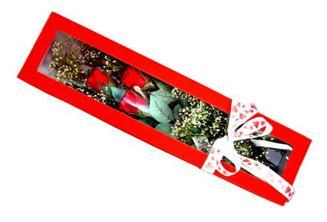 Mardin hediye çiçek yolla  Kutuda 3 adet gül