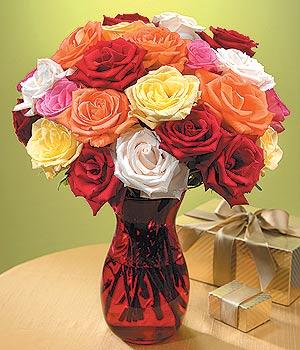 Mardin anneler günü çiçek yolla  13 adet renkli gül