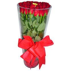 Mardin çiçek online çiçek siparişi  12 adet kirmizi gül cam yada mika vazo tanzim