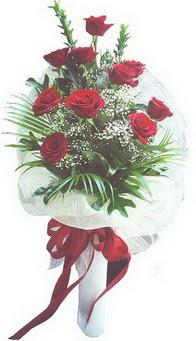 Mardin hediye çiçek yolla  10 adet kirmizi gülden buket tanzimi özel anlara
