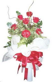 Mardin çiçek siparişi sitesi  7 adet kirmizi gül buketi