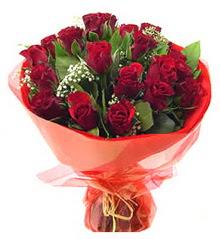 Mardin anneler günü çiçek yolla  11 adet kimizi gülün ihtisami buket modeli