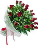 Mardin internetten çiçek satışı  11 adet kirmizi gül buketi sade ve hos sevenler