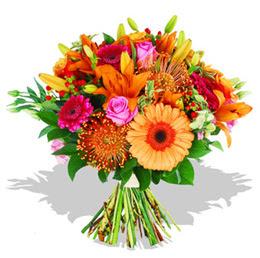 Mardin çiçekçi telefonları  Karisik kir çiçeklerinden görsel demet