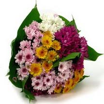 Mardin çiçekçi telefonları  Karisik kir çiçekleri demeti herkeze