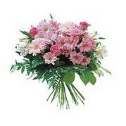 karisik kir çiçek demeti  Mardin çiçek satışı