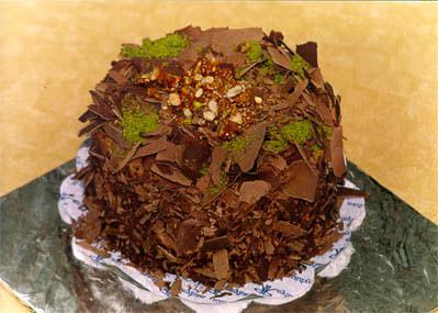 Çikolatali 4 ila 6 kisilik yas pasta  Mardin çiçek gönderme sitemiz güvenlidir