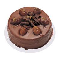 Kestaneli çikolatali yas pasta  Mardin çiçek , çiçekçi , çiçekçilik