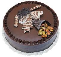 Çikolatali yas pasta 4 ile 6 kisilik  leziz  Mardin çiçek mağazası , çiçekçi adresleri