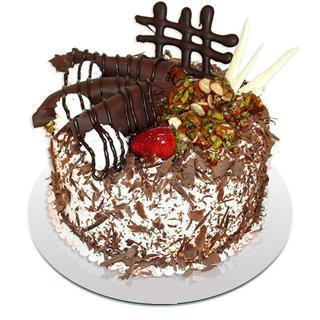 4 ile 6 kisilik çikolatali yas pasta  Mardin kaliteli taze ve ucuz çiçekler