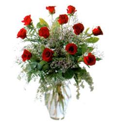Vazo içerisinde 11 kirmizi gül  Mardin çiçek siparişi vermek