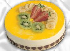 pasta gönderme 4 ile 6 kisilik yas pasta muzlu yaspasta  Mardin çiçek mağazası , çiçekçi adresleri
