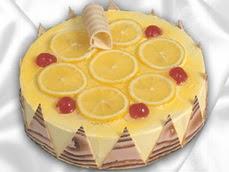 taze pastaci 4 ile 6 kisilik yas pasta limonlu yaspasta  Mardin online çiçek gönderme sipariş